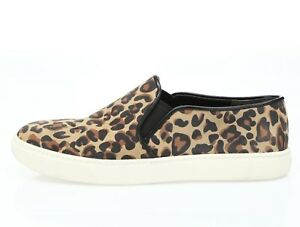 Cole Sneakers Sz B Haan Leopard on 6 Womens Leather Slip Print dC8dx0v