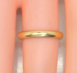 Rare-Antique-22K-Yellow-Gold-PEACOCK-Chicago-Women-039-s-Wedding-Band-Ring-Size-4-5