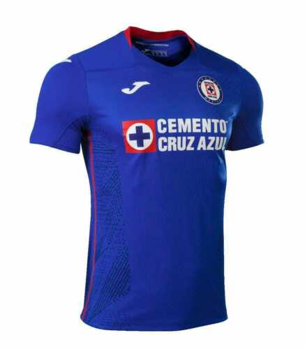Joma Cruz Azul Home 2020/2021 Mens Jersey 100% Authentic Jersey Cruz Azul Local
