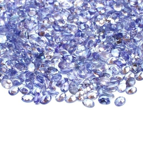 Wholesale Lot 5x4mm /& 6x4mm Oval Faceted Natural Tanzanite Loose Calibrated Gems