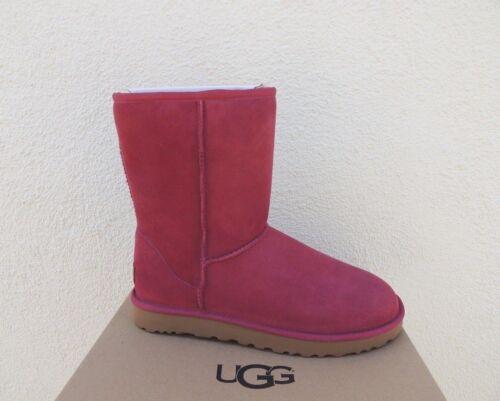 Rouge Short Ugg Etanches Bottes Classic 41 Ii Eur ~ 10 Us Plume Femmes 5q6S6t