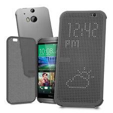Brand New Genuine HTC Dot View Ice Luxury Premium Case For HTC One M9
