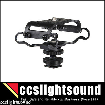 BOYA C10 DIGITAL RECORDER SHOCK-MOUNT WITH SHOE FITTING FOR VIDEO CAMERA