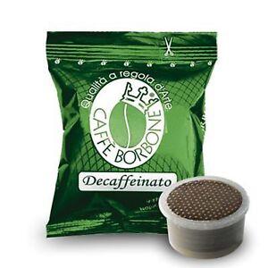 100-capsule-caffe-BORBONE-miscela-DEK-Lavazza-Espresso-Point-decaffeinato-cialde