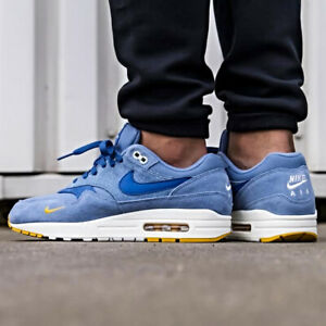 Details about Nike Air Max 1 Premium Sneakers Work Blue Size 8 9 10 11 12 Mens scarpa New