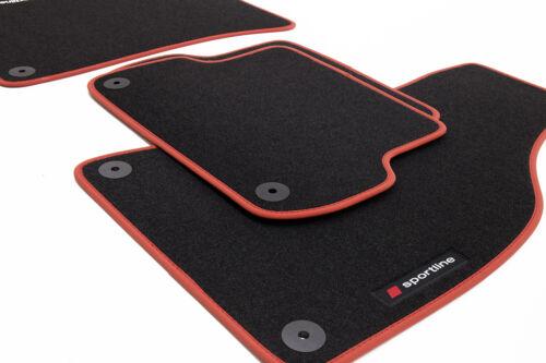 Sportline Fußmatten für Skoda Superb 3 III Bj 2015