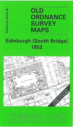 GODFREY EDITION OLD ORDNANCE SURVEY MAPS EDINBURGH /& MIDLOTHIAN