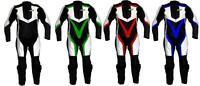 ITALIENNE COMBINAISON MOTO RACING EN CUIR M L XL XXL NEUF 1 partie 50 52 54