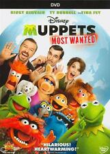 Muppets Most Wanted (DVD, 2014)