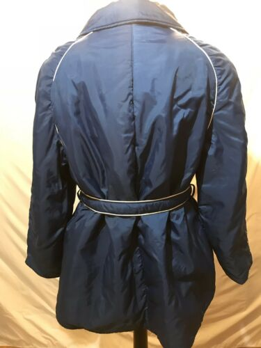 Vintage Large Navy rebeller Resistant Jacket gratis Women's forsendelse af unge Water wrq5Aw