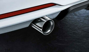 BMW F22/f23 M235i M Performance Exhaust Chrome Tailpipes 1830228667