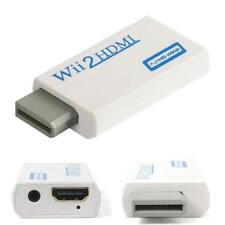 Wii to HDMI 1080p Upscaling Converter Adapter Audio Output for HDTV TV Projector