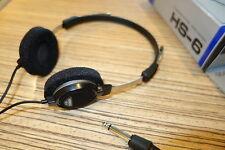 Kenwood HS-6 Kopfhörer 90er Jahre Design. Neuw. Ohrhörer OVP 12 Ohm Japan