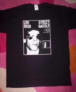 Lou Reed T Shirt Velvet Underground Street Hassle Ebay