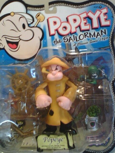 POPEYE THE SAILOR SERIES BY MEZCO - ACTION ACTION ACTION FIGURES 5d5b1a