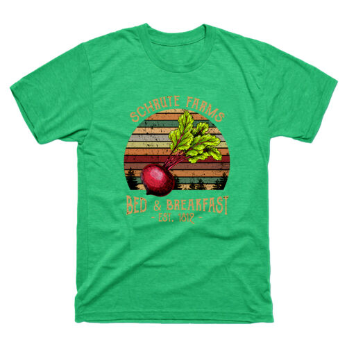 Schrute Farms Bed and Breakfast Office Dwight Vintage Men/'s Tee