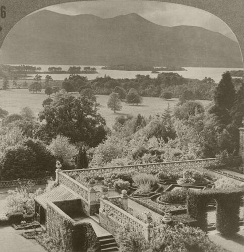 Keystone Stereoview of Lower Lake Killarney IRELAND 600//1200 Card Set #176DN175