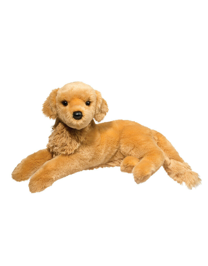 DOUGLAS Cuddle Toys 15  Sophie golden Retriever Stuffed Animal - 4320 NEW