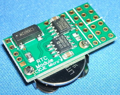 Real Time Clock RTC module for the Raspberry Pi with I2C passthrough option