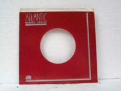 Music Cheap Sale 2-atlantic Oldies Series Record Company 45's Sleeves Lot #983-f