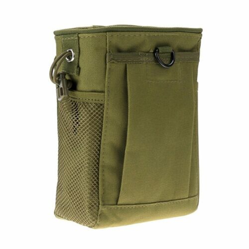 Hunting Hiking Military Molle Belt Tactical Magazine Dump Utility Pouch Bag New