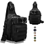 Tackle-Storage-Bag-Fishing-Tackle-Bag-Waterproof-Cross-Body-Sling-Bag-Adjustable thumbnail 8