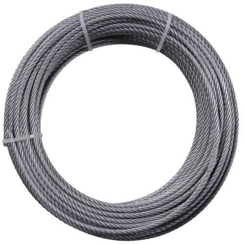 Drahtseil Stahl Verzinkt nach DIN 0,5m 1m 1,5m 2m 3m 4m 5m 8m 10m 20m 50m
