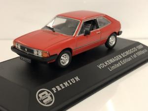 Volkswagen-Scirocco-1980-Rouge-1-43-Echelle-Triple-9-P10027