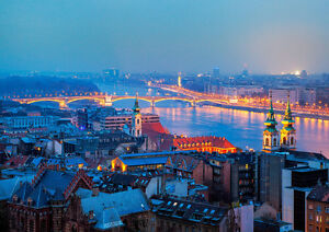 HUNGARY-BUDAPEST-NEW-A3-CANVAS-GICLEE-ART-PRINT-POSTER
