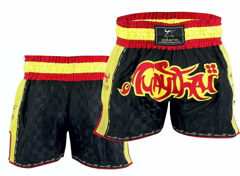 Pantaloncini da lotta MMA Grappling SHORT KICK BOXING Cage Combattere Pantaloncini UFC Muay Thai