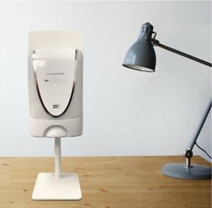 Universal-hand-soap-automatic-dispenser-stand-white-for-office-desk-Reception