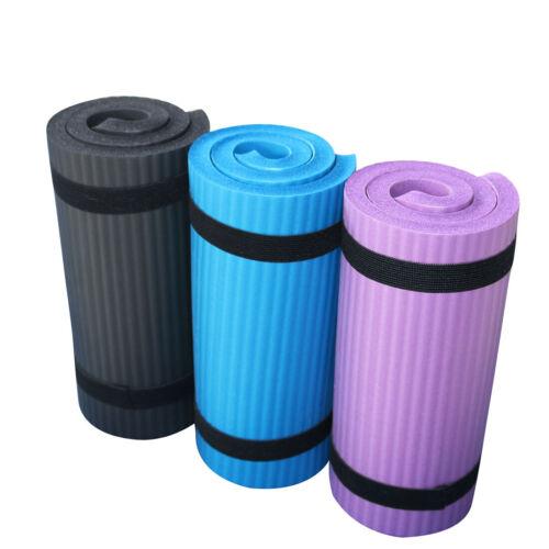 Foldable Yoga Mat Non-Slip Fitness Exercise 15mm Thick Pilates Meditation Pad
