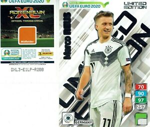 Panini-Adrenalyn-uefa-Road-to-Euro-2020-XXL-Limited-Edition-marco-reus-le