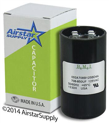 PMJ708 Packard Aftermarket Replacement Motor Start Capacitor 708-850 MFD 110 125 Volt