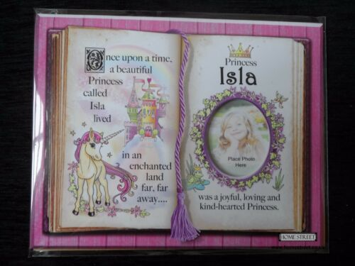 Isla Princess Unicorn Mount Gift With Verse And Photo Space Choose A Frame