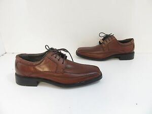 8d914a9d73f3b6 Men s Dockers Endow Leather Oxford in Tan Burnished Leather Size 8M ...