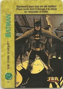 DC Comics Overpower Batman Hero Character Card Rare