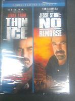 Jesse Stone Thin Ice / No Remorse (dvd 2 Disc) Two 2