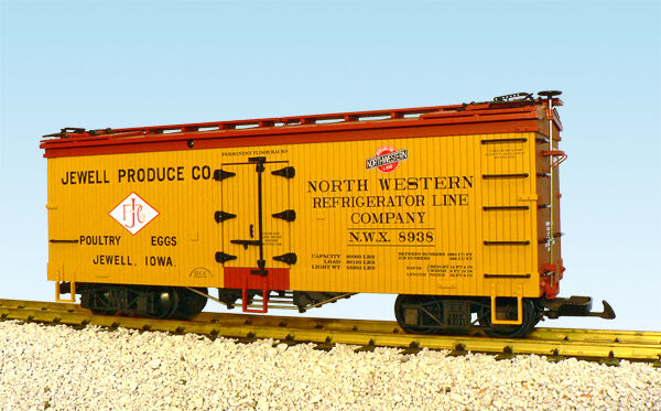 USA Trains Escala G R16377 Jewell producir-giallo rossooxide Hierba