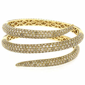 Roberto-Coin-18k-or-18-50ct-Chic-Marron-Diamant-Rond-Large-Serpent