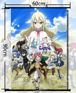 Anime-Fairy-Tail-Lucy-Heartfilia-Wall-Scroll-Poster-Home-Decor-Gift-60-90cm-918