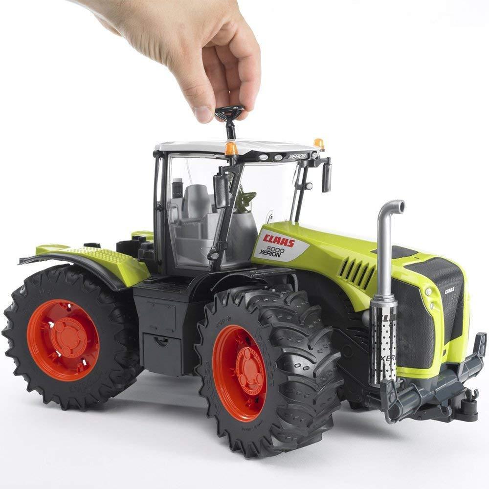 Bruder Toys Claas Xerion 5000 Tracteur échelle 1 16 03015 Kids
