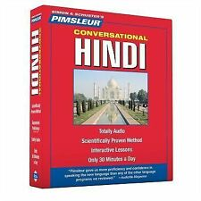 PIMSLEUR Learn to Speak HINDI Language 8 CDs NEW!!