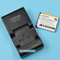 Genuine Fujifilm Bc-45b Battery Charger+np-45a Battery For Xp11 Jx250 Jv105
