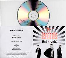 THE BASEBALLS Hot N Cold UK 2-trk promo test CD