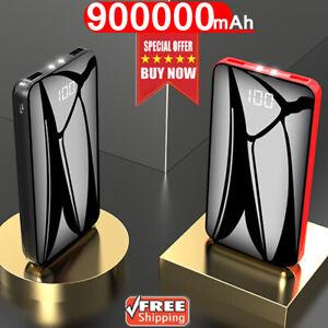 900000mAh-Power-Bank-Dual-USB-External-Battery-Backup-Charger-Huge-Capacity
