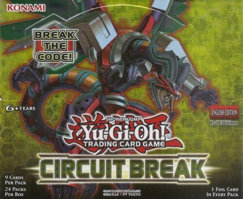 Security Block CIBR-EN053 Yu-Gi-Oh Rare Card English 1st Edition Mint New