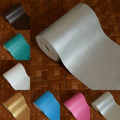 Faux Leatherette Leather Cloth Car Bag Craft Material Fabric Upholstery Deco