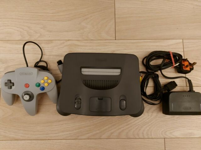 N64 Console Nintendo 64 Stripped, Cleaned, New Joystick.
