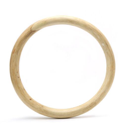265mm Chinese Kung Fu Hoop Wood Rattan Ring Wing Chun Training Hand Strength